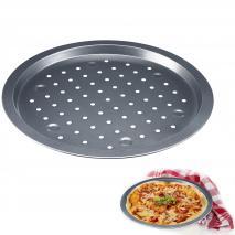 Bandeja hornear pizza agujeros 33 cm