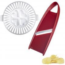 Set patates chips microones amb mandolina