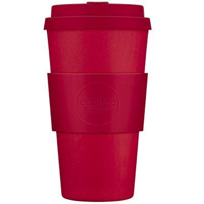 Taza bambú tapa Ecoffee 470 ml Red Dawn