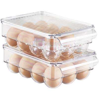 Huevera para nevera x12 huevos con tapa