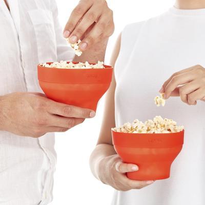 2x Mini Pop Corn Palomitas microondas Lékué