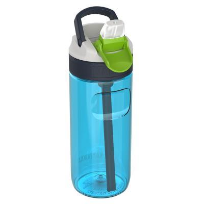 Botella de agua con pajita Lagoon 500 ml