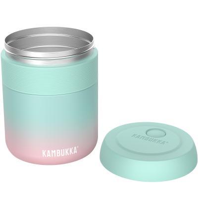 Termo sólidos acero Kambukka 600 ml mint