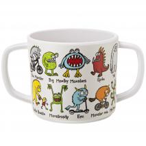 Taza infantil con dos asas monsters