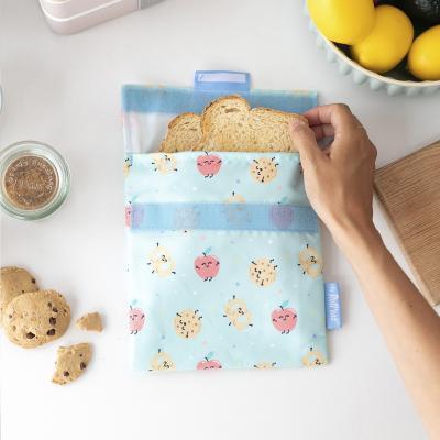 Bolsa Porta merienda Snack'n Mr Wonderful cookies