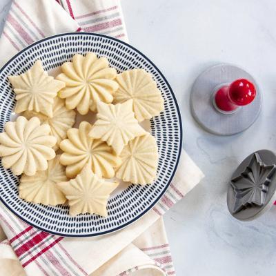 Set 3 sellos galletas Pretty Cookie Nordic Ware