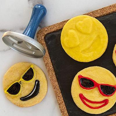 Set 3 sellos galletas Emoji Cookie Nordic Ware