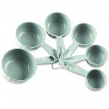Set 6 tazas medidoras Bundt sea glass