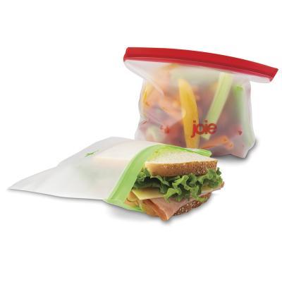 6 bolsas reutilizables bocata y congelar