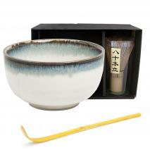 Set japonés té matcha Aurora 3 piezas