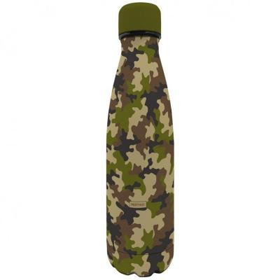 Botella térmica Nerthus 500 ml camuflaje