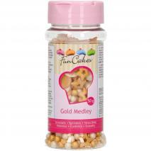 Sprinkles Medley Gold 50g