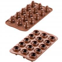 Molde bombones silicona 3D Choco Tree x15