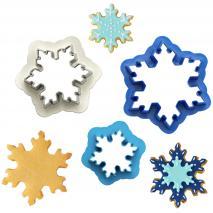 Set 3 cortadores galletas Frozen Star