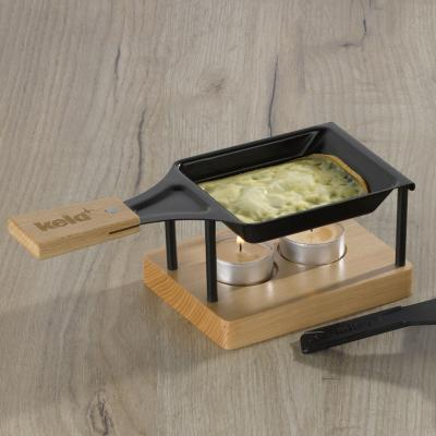 Mini raclette individual Cheese 3 p madera