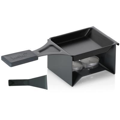 Mini raclette individual Cheese 3 p negro