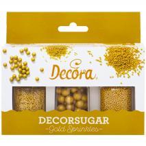 Set Sprinkles nonpareils y fideos dorados 85 g