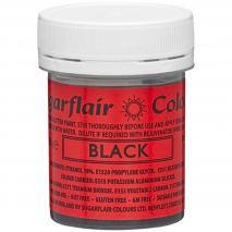 Pintura comestible 35 g Glitter negro