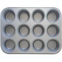 Molde 12 cupcakes antiadherente Decora