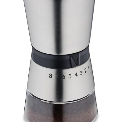 Molinillo café 8 grosores acero Carolina
