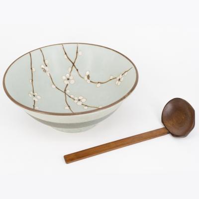 Cuchara ramen japonés bambú 18 cm