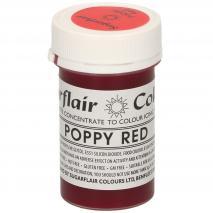 Colorante en pasta concentrado 25 g rojo poppy