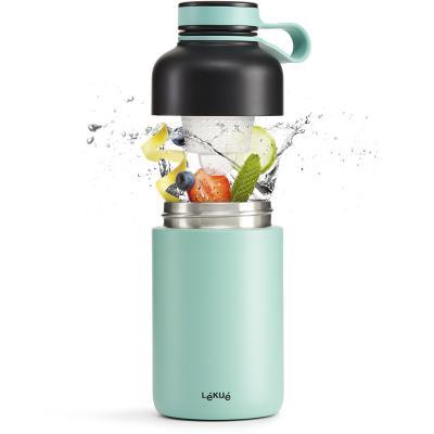 Botella térmica Lekue con filtro infusor