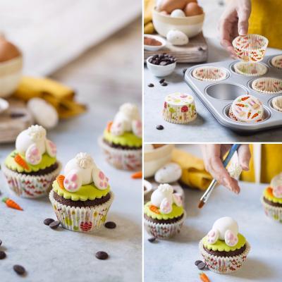 Set 10 decoraciones de azúcar Make a Bunny