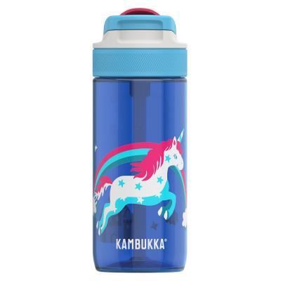 Botella de agua con pajita Lagoon 500 ml Rainbow