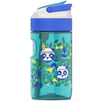 Botella de agua con pajita Lagoon 400 ml Panda