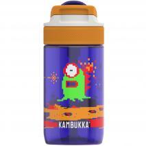 Botella de agua con pajita Lagoon 400 ml Alien