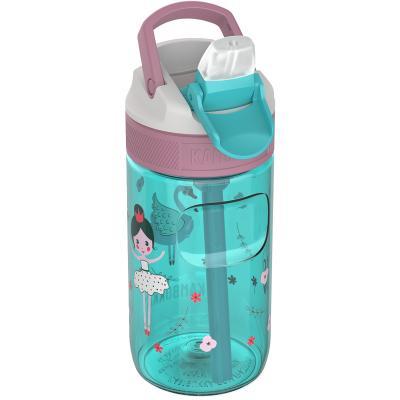Botella de agua con pajita Lagoon 400 ml Ballerina