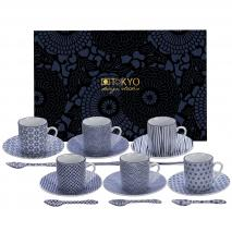 Set regalo café Nippon blue 18 piezas