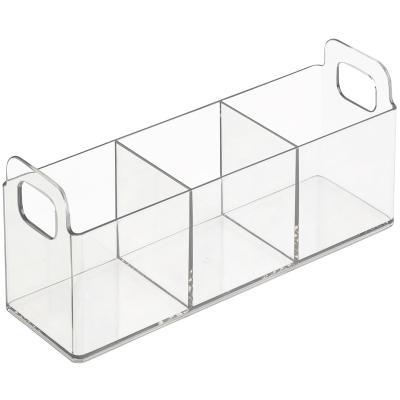 Organizador con divisores S transparente Catch