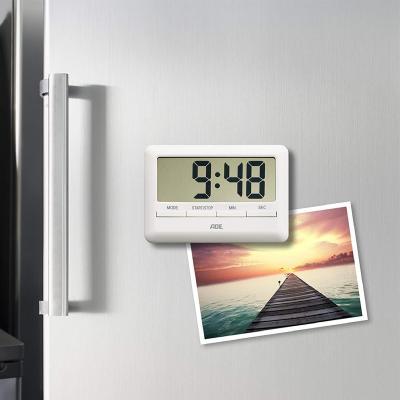 Temporizador de cocina digital blanco