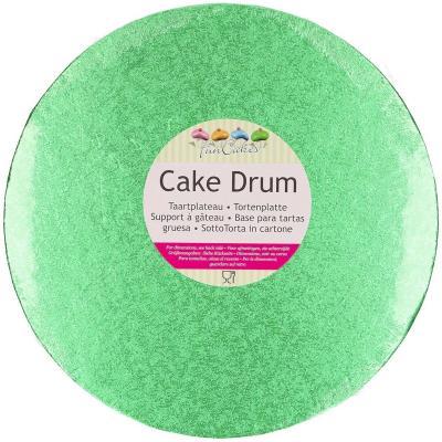 Base pasteles redonda 25 cm verde