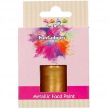 Pintura alimentària metàl.lica 30 ml Daurat fosc