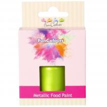 Pintura alimentària metàl.lica 30 ml Verd