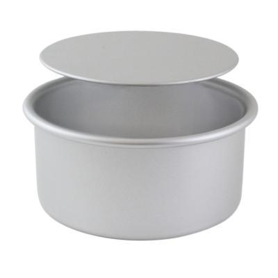 Molde redondo aluminio base móvil PME 12,7x7,6h cm