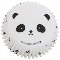 Papel cupcakes x50 Panda
