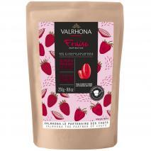Cobertura manteca de cacao Valrhona Fresa