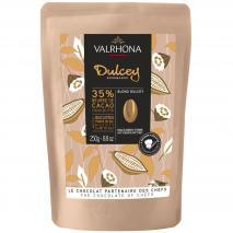 Cobertura chocolate blanco Valrhona Dulcey 35%250