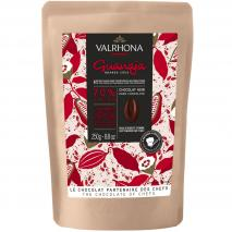 Cobertura xocolata negra Valrhona Guanaja 70% 250g