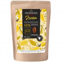 Cobertura xocolata llet Valrhona Jivara 40% 250g