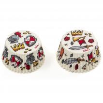 Papel cupcakes x36 Caballeros