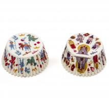 Papel cupcakes x36 Cuento de hadas