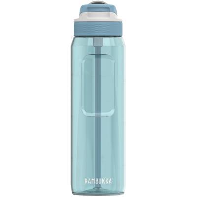 Botella de agua con pajita Lagoon 1000 ml Blue