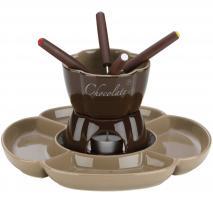 Set Fondue Xocolata amb plat divisor 7 p