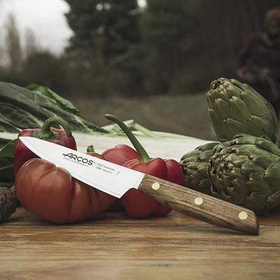 Cuchillo utilitario Arcos Nordika madera 14 cm