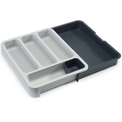 Organizador cubiertos extensible DrawerStore gris